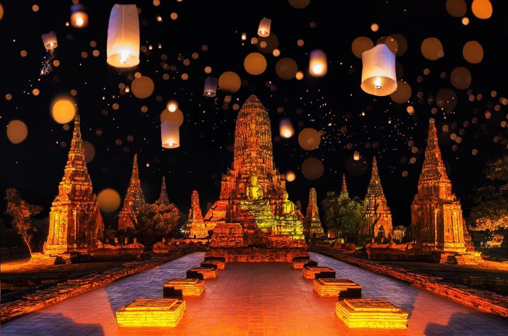 Loy Krathong, le festival des lumières
