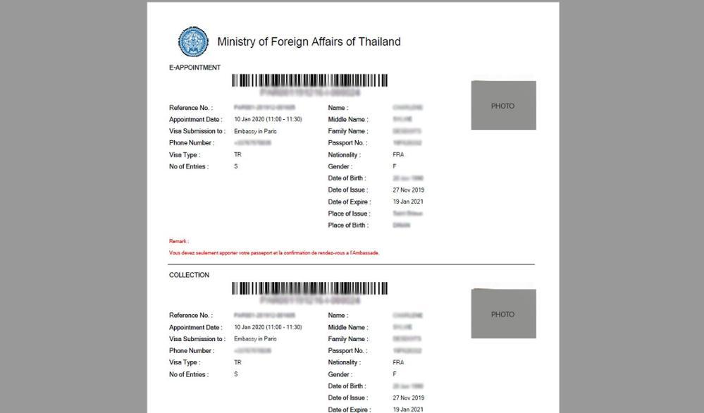 Comment bien faire sa demande de visa touristique thaïlandais en ligne ?