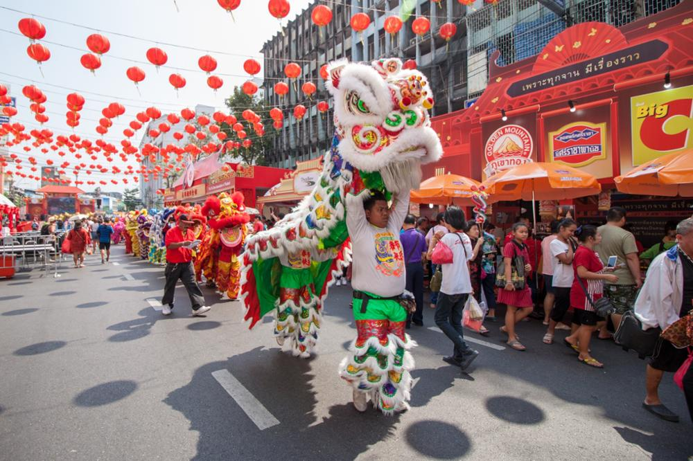 Où célébrer le nouvel an chinois en Thaïlande ?