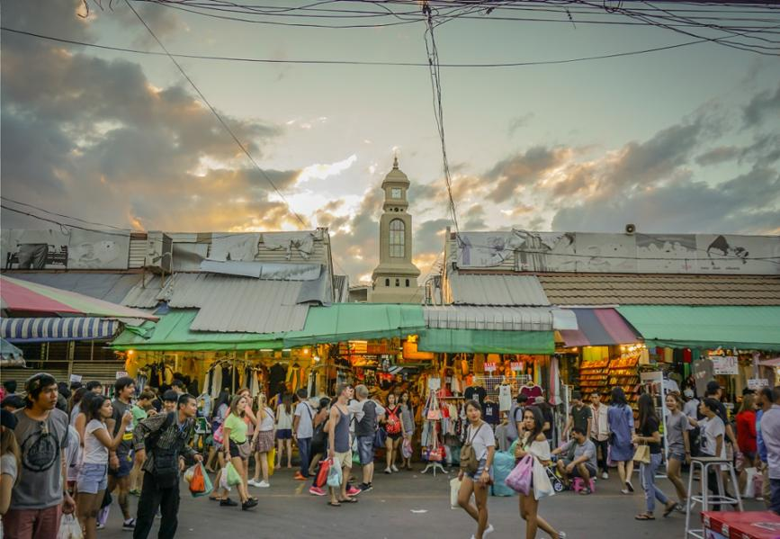 Découverte des plus beaux marchés au cœur de Bangkok