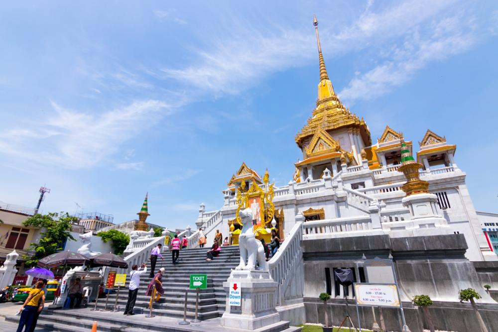 Les 5 plus beaux temples de Bangkok